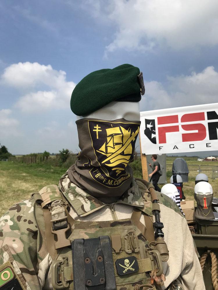 Tour de cou Commando Marine