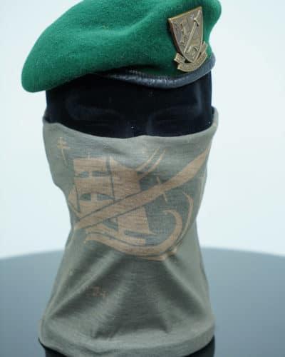 Echarpe tour de cou Commando Marine